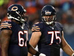 The BEARS offensive line will be challenged to communicate effectively in the crowd noise and keep a very aggressive pass rush off the back of BEARS Quarterbacks. Jordan Mills (l) and Kyle Long (r) haven't played a lot together this preseason due to injury and will need to get on the same page quickly versus Seattle...