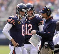 Cutler (left) and McCown (middle) both have benefitted from the tutelage of Trestman and helped the Bears establish themselves as a Top Offensive Unit in 2013.