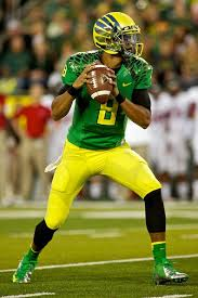 "At 6'4"" 222 pounds, Mariota has good size and speed (4.53/ 40 time) and could signal a changing at the guard in the next few years at the QB position for the Bears."